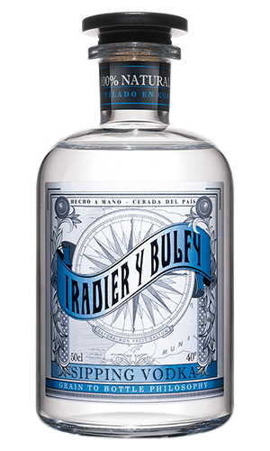 Iradier Sipping Vodka - Singular Spirits
